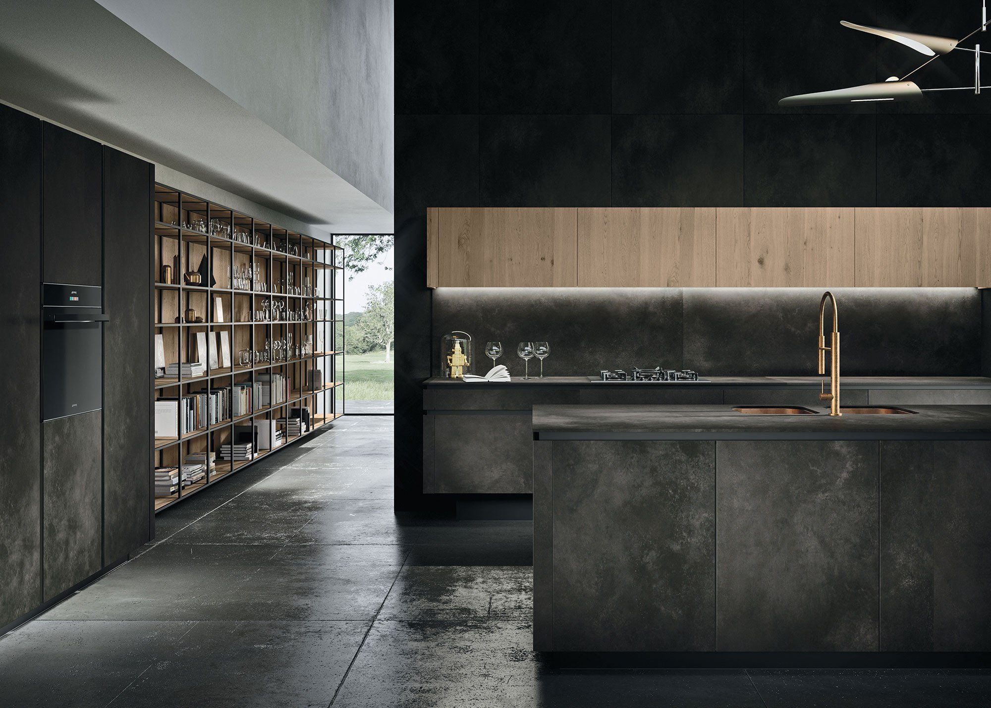 Cucine Design Moderne Way Materia Snaidero Dettaglio 4 Arredolinea