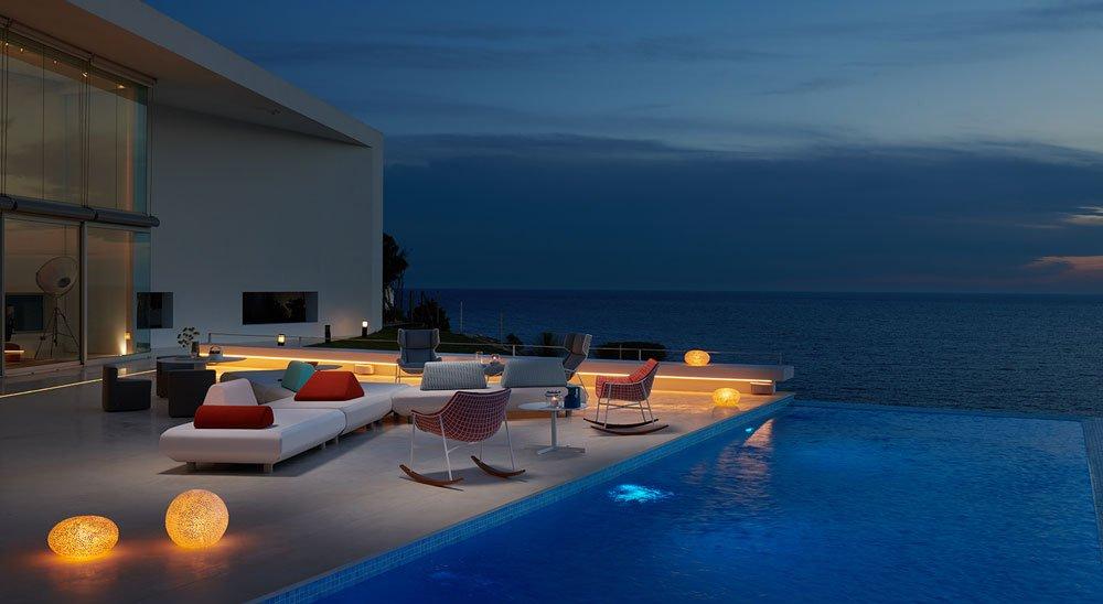 progettazione terrazzi spazi esterni varaschin
