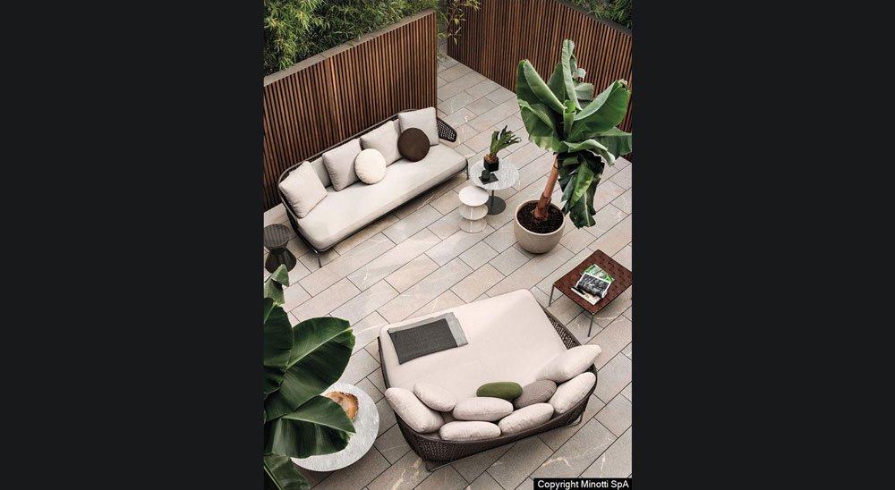 progettazione terrazzi spazi esterni minotti