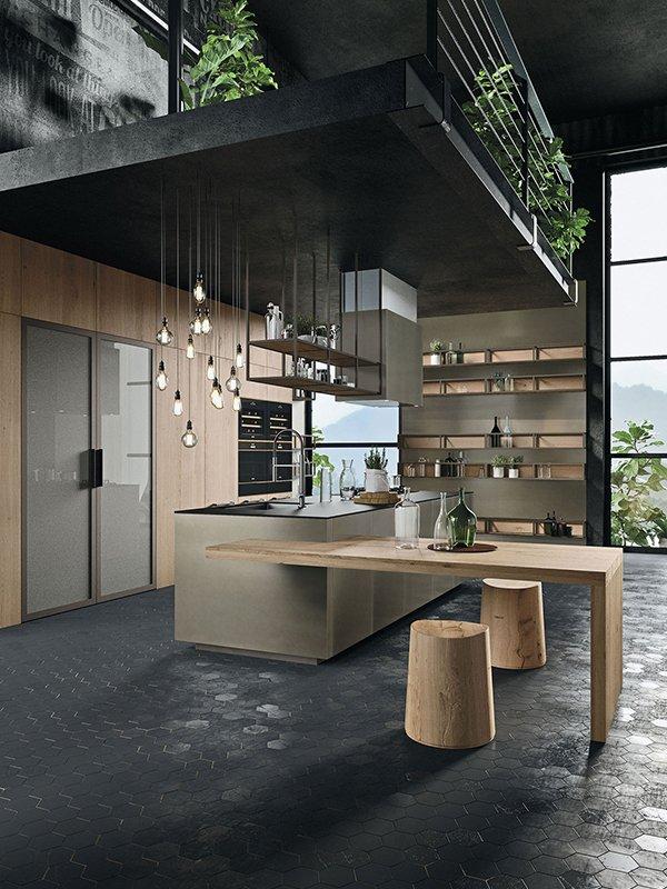Interior Design Ecosostenibile di Snaidero